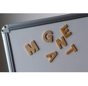 Houten magnetische letters