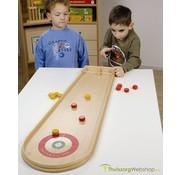 Curling voor op tafel