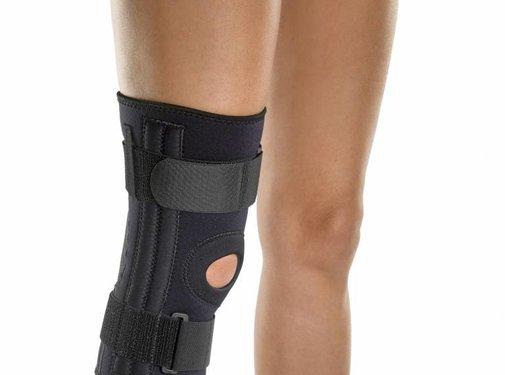 Kniebrace met flexibele springveer