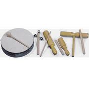 Ritmeset met 5 muziekinstrumenten