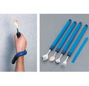 Bestek met flexibel en vormbaar handvat