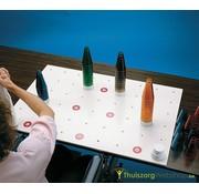 Oefenbord met conen