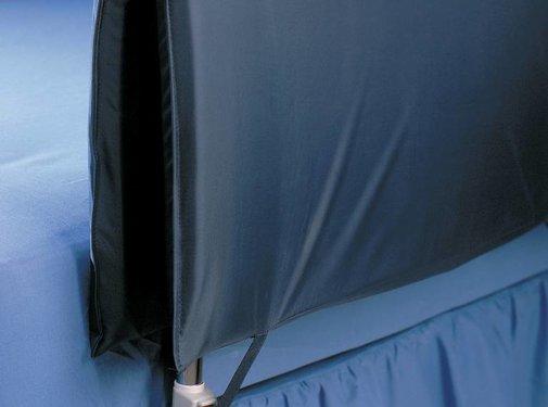 Bekleding voor bedhek blauw