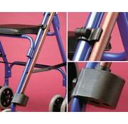 Stokhouder voor rolstoel of rollator
