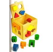 Vormenkubus geometrische vormen
