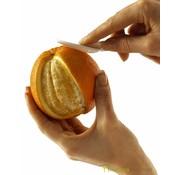 Ergonomische sinaasappelschiller