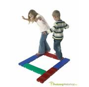 Tactiel voetpad met 6 elementen