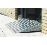 Drempelplaat aluminium heavy duty