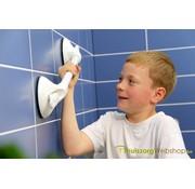 Wandbeugel op zuignap Mobeli® kindergreep