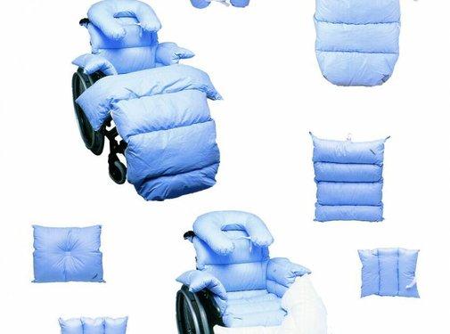 Integraal rolstoelkussen preventief antidecubitus