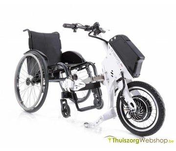 Elektrische aankoppelbare handbike