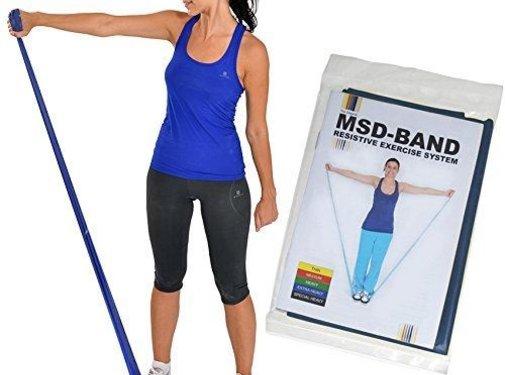 Elastische Therapieband MSD - latexvrij 1,5 m