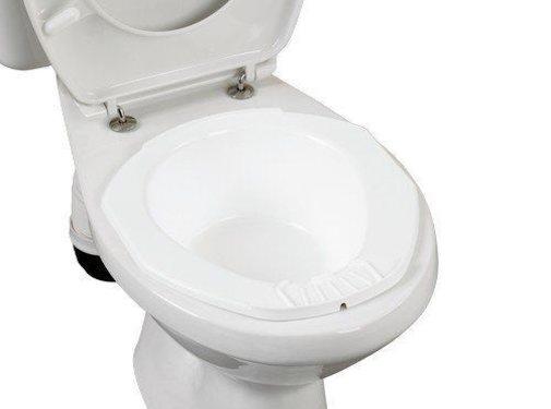 Opzet bidet voor standaard toilet