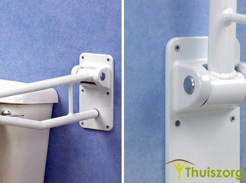 Opklapbare toiletbeugel