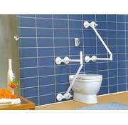 Toiletbeugel op 4 zuignappen