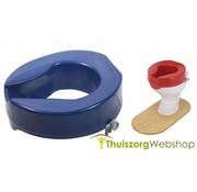 Toiletverhoger in contrastkleur