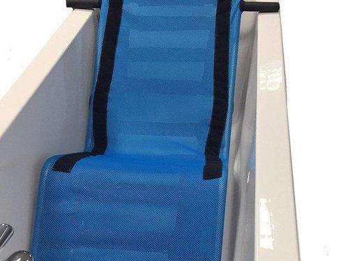 Comfortabele badzit ligstoel