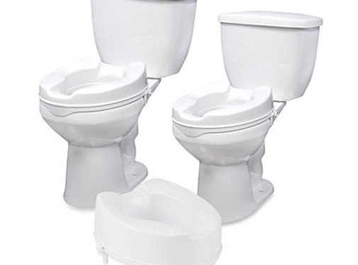 Toiletbril verhoger met scharnieren