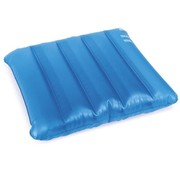 Blauw zit waterkussen anti-decubitus