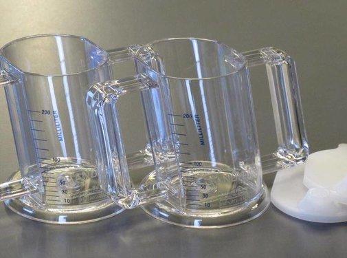 Handycup® institution 80° transparant (per 12)
