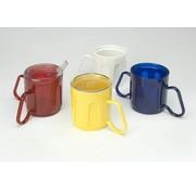 Beker met 2 aanpasbare handvatten