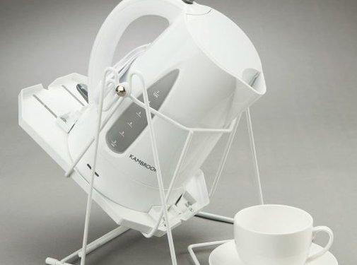 Schenkhulp voor waterkoker of koffiekan