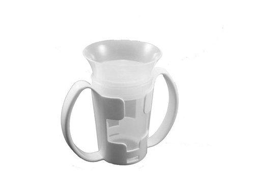 Beker voor slikstoornis met twee handvatten