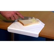 Broodsmeerplank voor éénhandig gebruik
