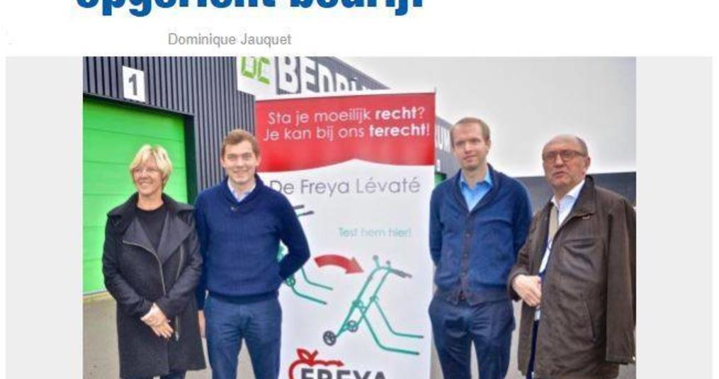 Freya Products focust op gamma om hulpbehoevenden bij te staan