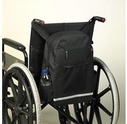 Opbergtas voor achterzijde rolstoel