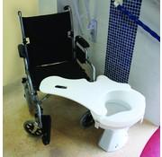Transferplank voor het toilet, kunststof