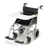 Werkblad voor op rolstoel, wit