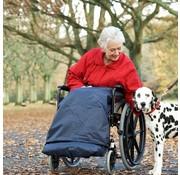 Beenbekleding voor rolstoel