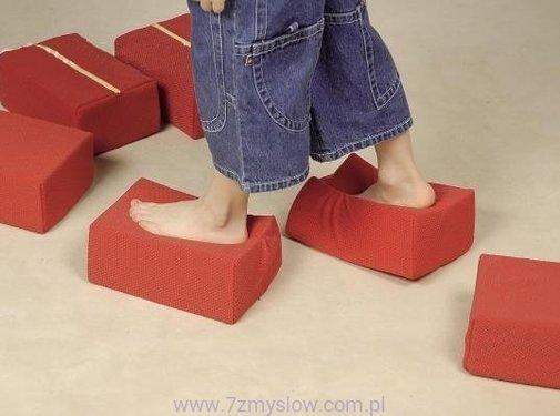 Comprimo: stapblokken in schuim met verschillende hardheid