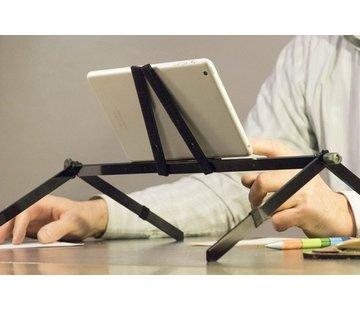 Opvouwbare steun voor laptop/tablet voor in bed Plygo