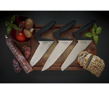 Webequ® Ergonomische keukenmessen met Soft Touche