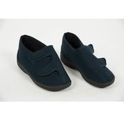 Hoge pantoffel met velcrosluiting