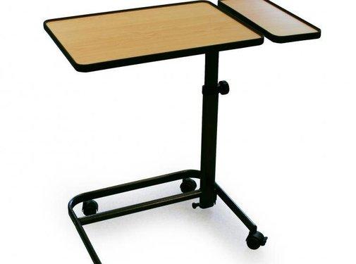 Eettafel voor zetel met vaste zijtablet