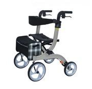Plooibare rollator met 4 wielen Design