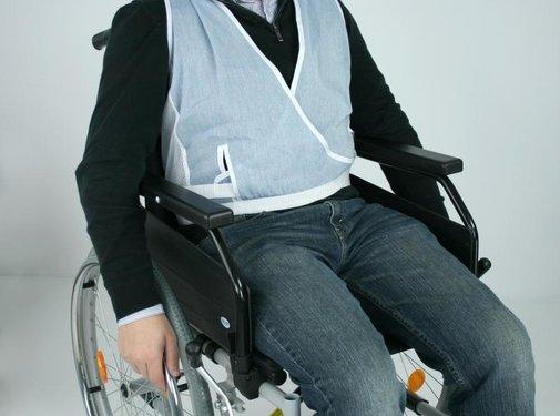 Houdingsvest voor rolstoel