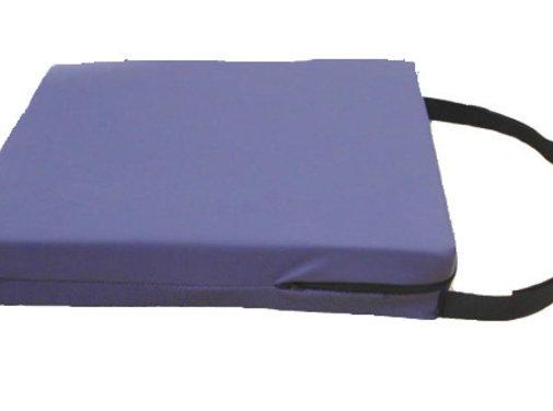 Kussen uit visco-elastisch schuim voor rolstoel