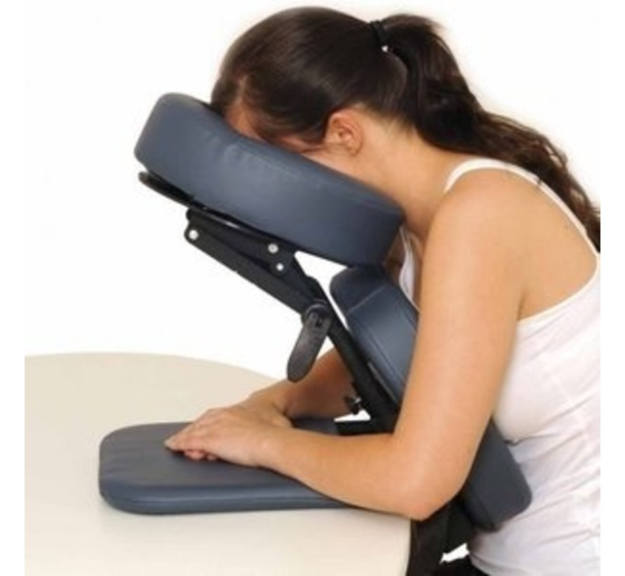 Mobiele massagehoofdsteun voor aan tafel
