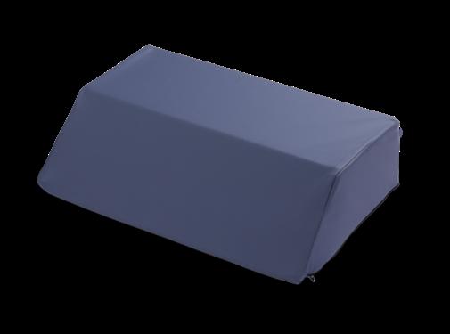 Rugkussen 30° in afwasbare, bi-elastische, polyurethane stof met foam
