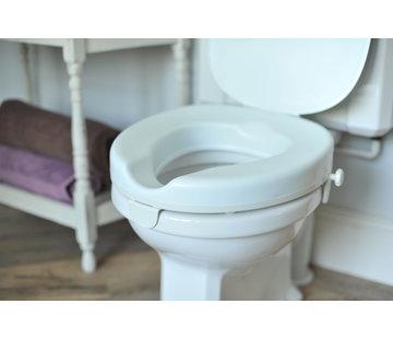Toiletverhoger voor op vierkant toilet