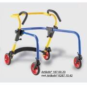 Omgekeerde loopwagen voor kinderen