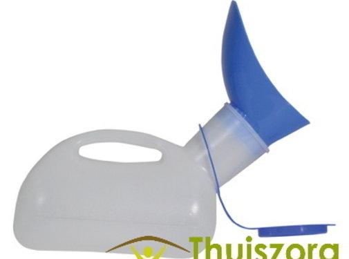 Unisex draagbaar urinoir