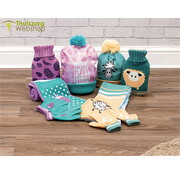 St Helens Home and Garden Children's Hot Water Bottle, Hat, Scarf and Gloves Gift Set