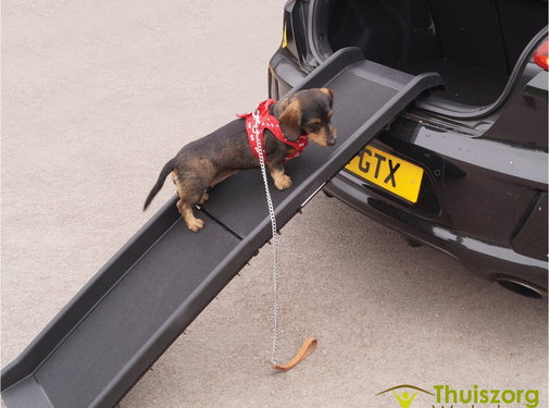 Opvouwbare loopplank voor huisdieren