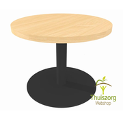 Ronde tafel met centrale poot