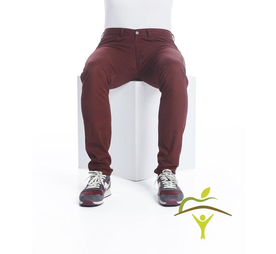 Rolstoelbroek mannen met diepe ritssluiting - verkrijgbaar in 4 kleuren